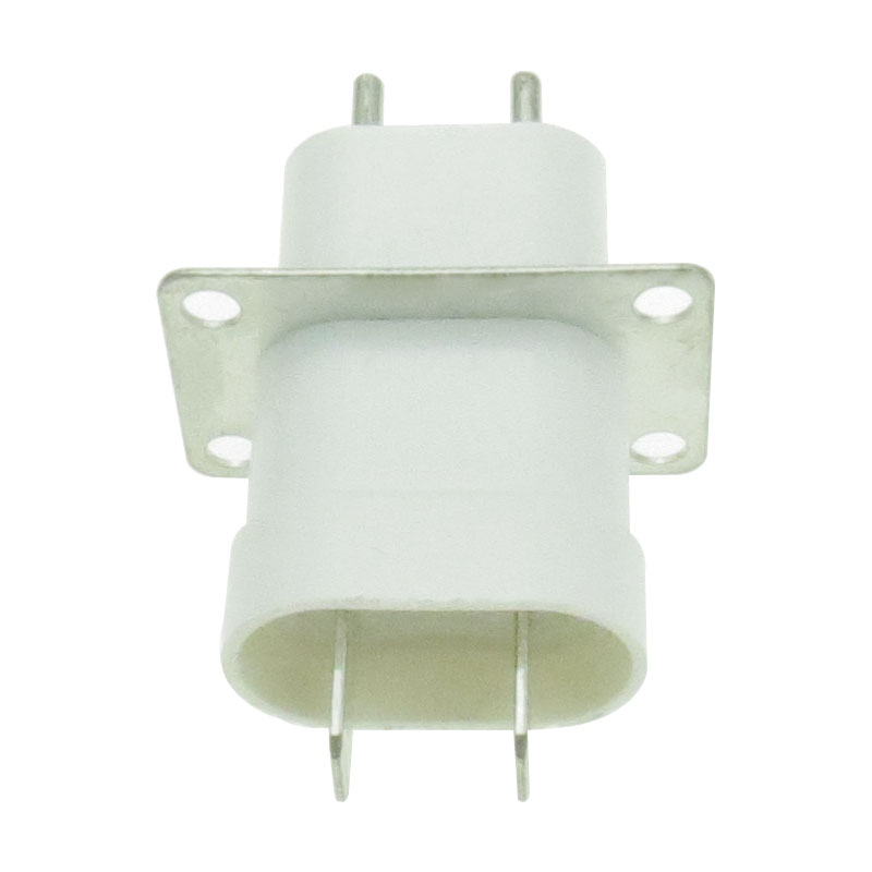 Electronic Microwave Oven Magnetron Plug 4 Filament Pin Sockets Converter Home Microwave Oven Spare Parts