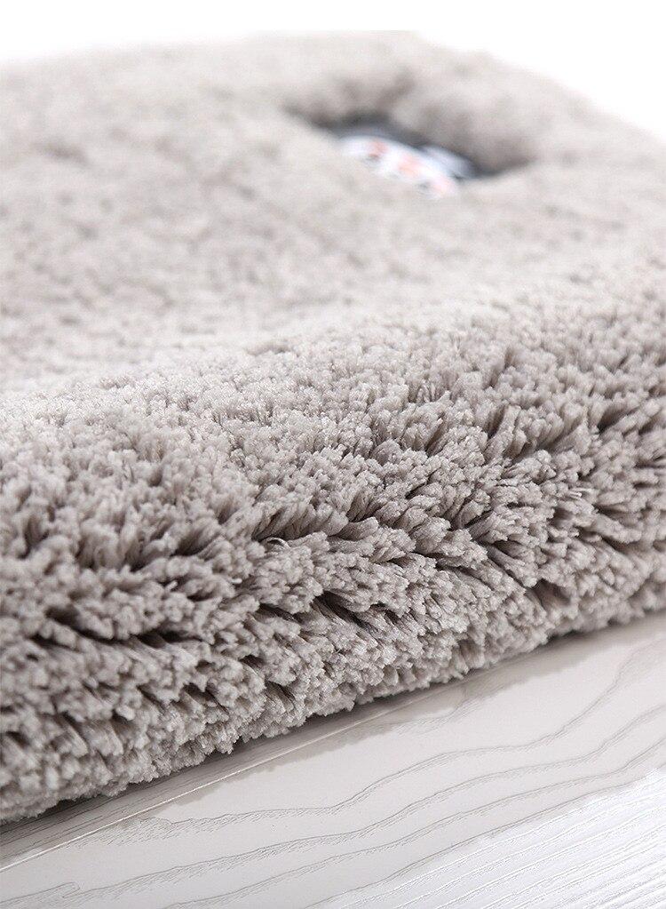 1 bedside entrance hall non-slip mat Bathroom Set stair treads carpet (4)
