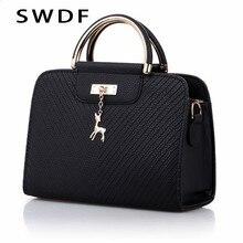 SWDF – sacs à main en cuir pour femmes, sacs à bandoulière de grande capacité, fourre-tout à poignée, nouvelle collection 2021
