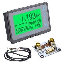 Тестер емкости аккумулятора TF03K, измеритель Coulomb с дисплеем напряжения и тока, 10 ~ 120 В постоянного тока, 50 а/А/а, с работоспособностью 1 м