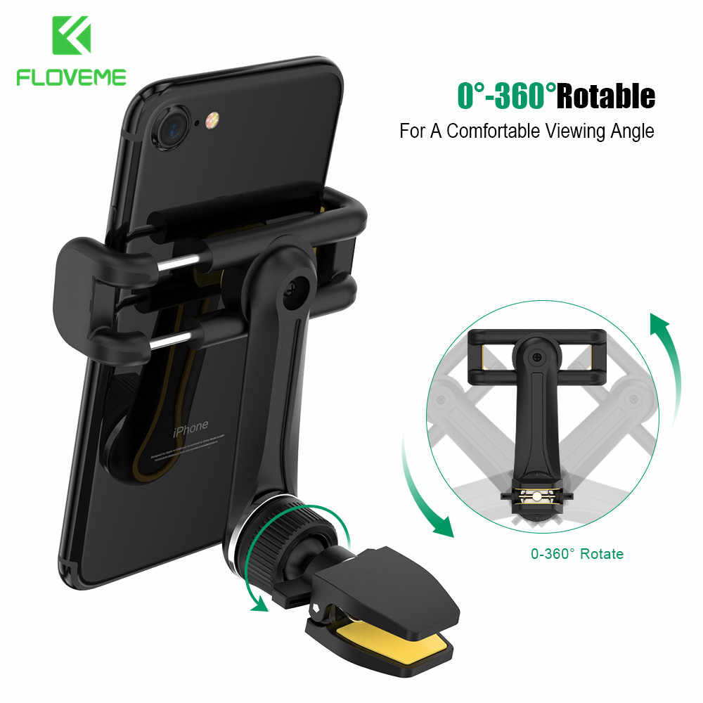 FLOVEME Universele Auto Telefoon Houder Voor Smartphone Telefoon Stand Air Vent Mount Mobiele Pone Houder Ondersteuning Telefoon Voiture