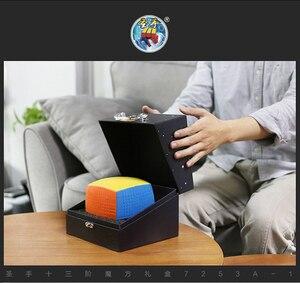 Image 4 - Shengshou 13 ชั้น 13X13X13 Magic Cube Stickerless Speed Magic Puzzle 13X13 การศึกษาCubo Magicoของเล่น (128 มม.) ของเล่นเด็ก