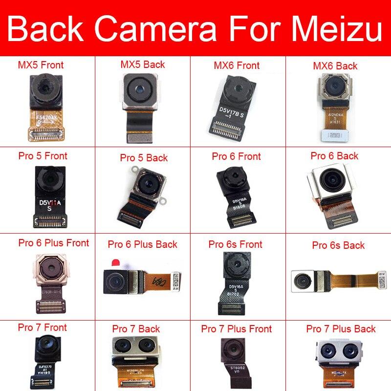 Front & Rear Main Camera For Meizu MX5 MX6 Pro 5 6 6s 7 Plus Back Big Samll Camera Flex Ribbon Cable Replacement Repair Parts