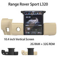 Car Multimedia Player Stereo GPS DVD Radio NAVI Navigation Android Screen System for Land Rover Range Sport L320 2009~2013