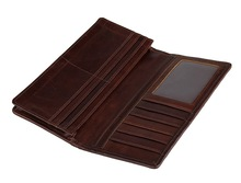 JMD Genuine Leather Zipper Closed Women Clutch Bag For Lady Fold Wallet Striped Purse 8090 3 color