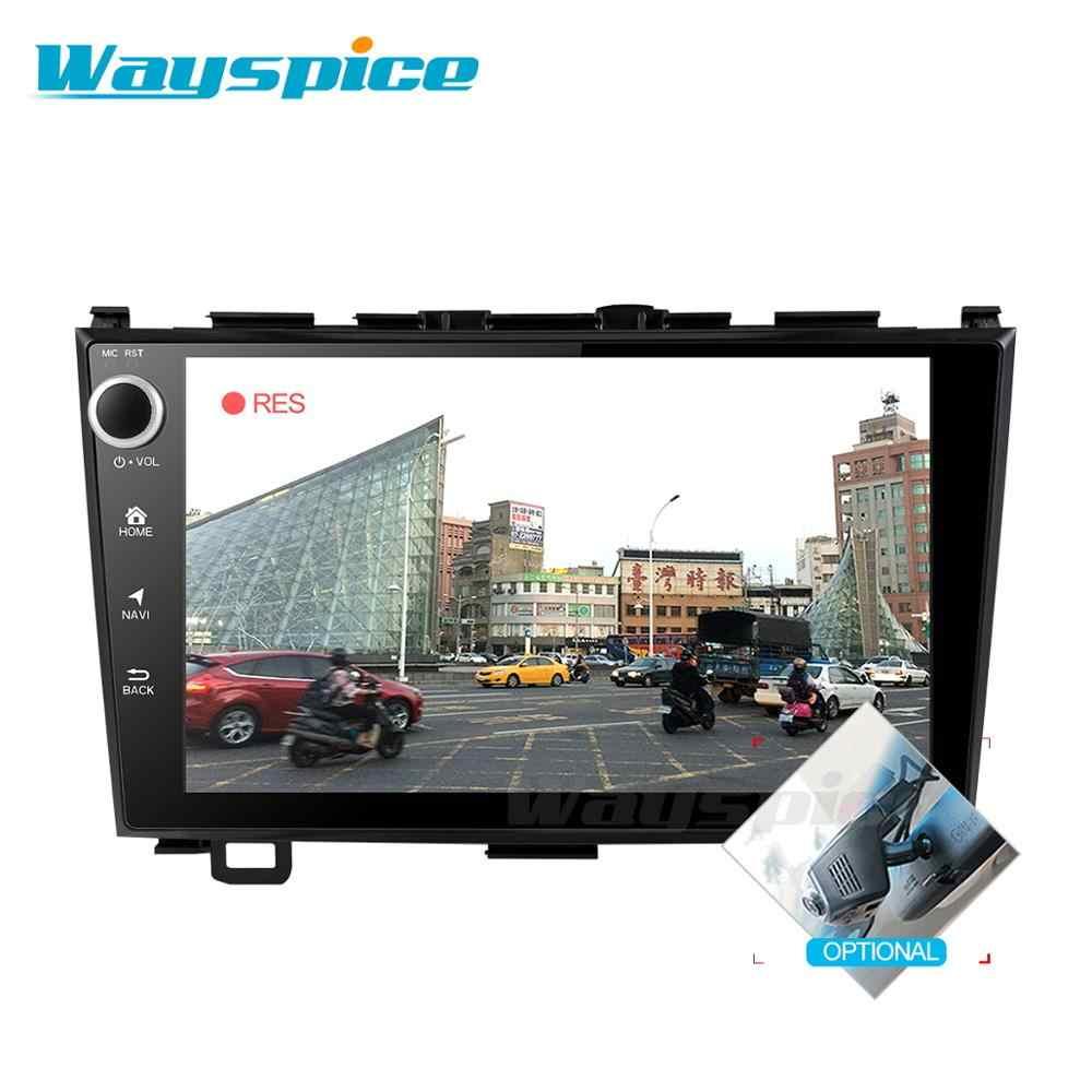 Автомобильный dvd gps плеер для Honda CRV 2006-2011 4G ram с автомобильным Радио Видео плеером gps Навигация стерео 2 din android 9,0 PX6
