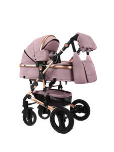 Stroller LUXMOM Armrest Adjustable Two-Way for Use Four-Seasons Are