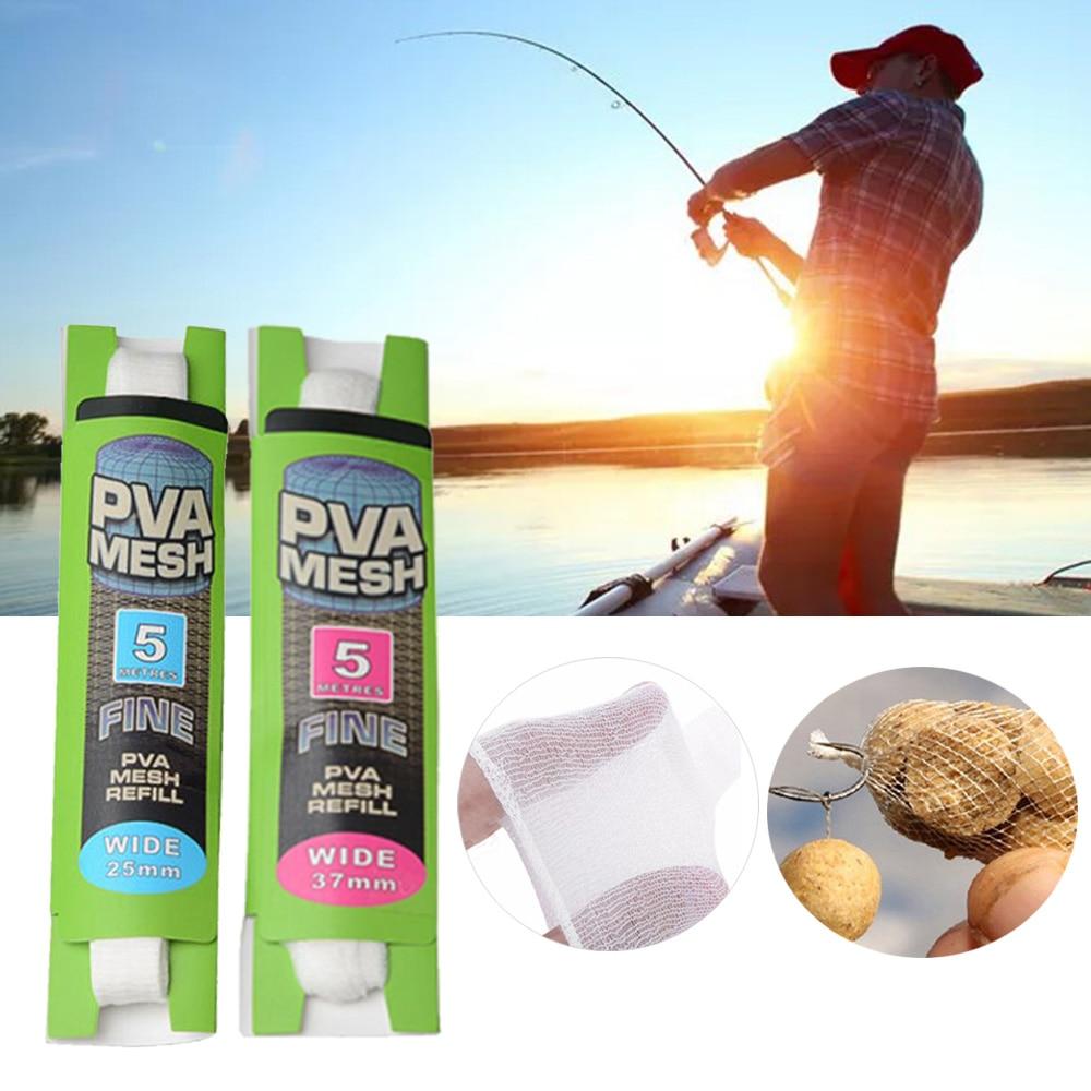 25mm Mesh Refill 6m Length British Made PVA Carp Fishing