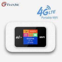 Tianjie 3g 4g lte wcdma umts gsm wifi roteador 150mbps cat4 modem de bolso portátil de alta velocidade desbloqueado com slot para cartão sim