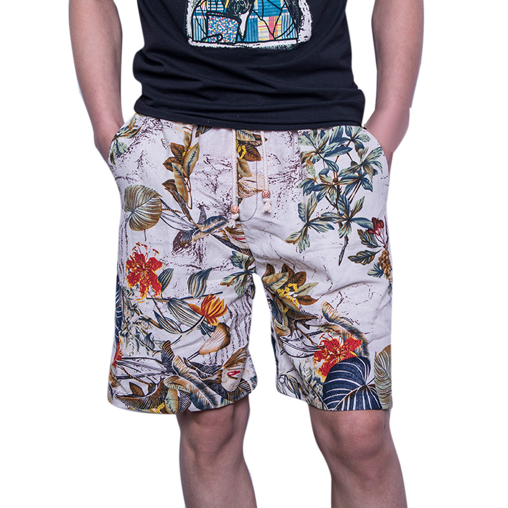 Shorts Men's Short Pants Fashionable Fashion Casual Color Collision Loose Shorts Pants Sexy 2020 Shorts Men Jeans