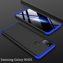 Slim Case for Samsung Galaxy M30S Case 360 Full Protection Anti-knock 3 in 1 Matte Hard PC Cover for Samsung M30S Case Coque slim case for samsung galaxy a80 case 360 full protection anti knock 3 in 1 matte hard pc cover for samsung a80 case coque