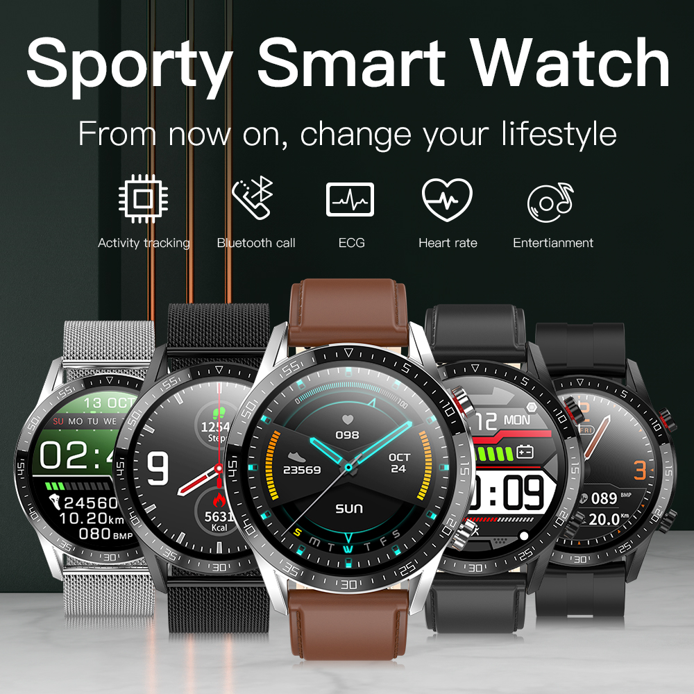 Bluetooth call business smart watch IP68 waterproof one-button photo health monitoring sports data analysis multi-function watch