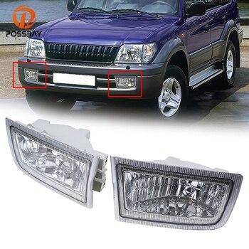 POSSBAY Car Light for Toyota Land Cruiser Prado(J90) Petrol/Diesel Facelift 1999 2000 2001 2002 Front Bumper Fog Light Lamps