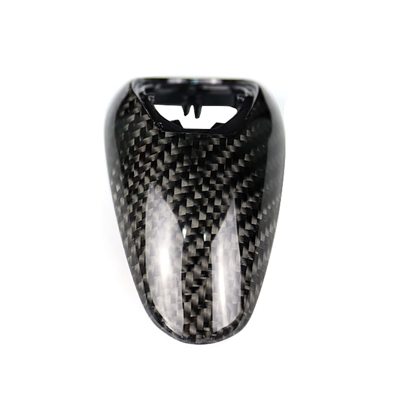 Replacement Style For Decoration& Protection For BMW M2 F87 M3 F80 M4 F82 F83 M5 M6 Carbon Fiber Gear Shift Knob Head Cover Trim - 4