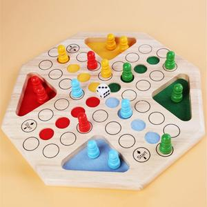 Juego de mesa para niños y adultos, entretenimiento para padres e hijos, regalo, ajedrez volador, tablero de ajedrez de madera, Mini juguete educativo de viaje