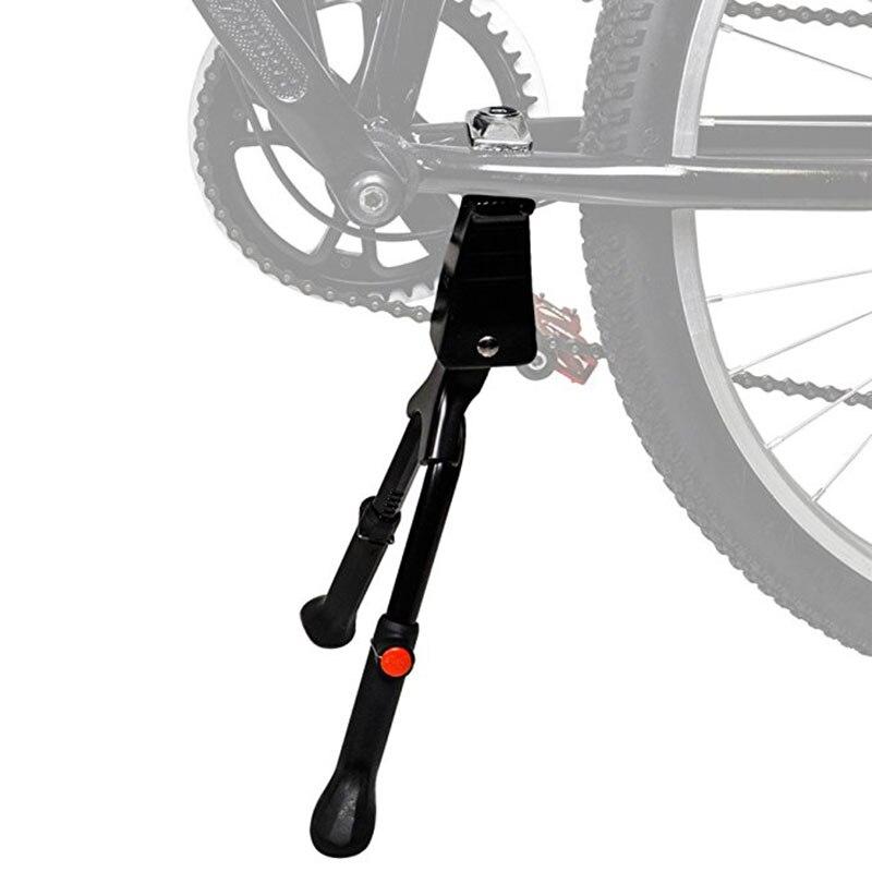 Bicicleta kickstand bicicleta de estrada kickstand resistente ajustável mountain bike bicicleta ciclo prop side traseiro estacionamento rack|Apoio| |  - title=
