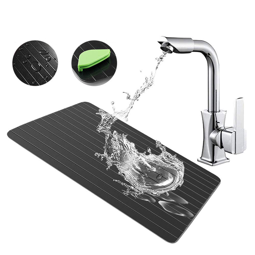 Food Grade Safety Fast Defrosting Tray Thaw Frozen Food Meat Fruit Quick Defrosting Plate Board Defrost Kitchen Gadget Tool Defrosting Trays Aliexpress