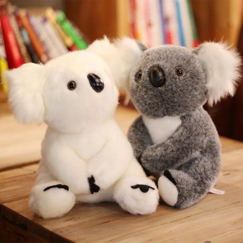 13cm Cute Koala Plush Toys White/Gray Adventure Koala Doll Soft Plush Kids Birthday Christmas Gift