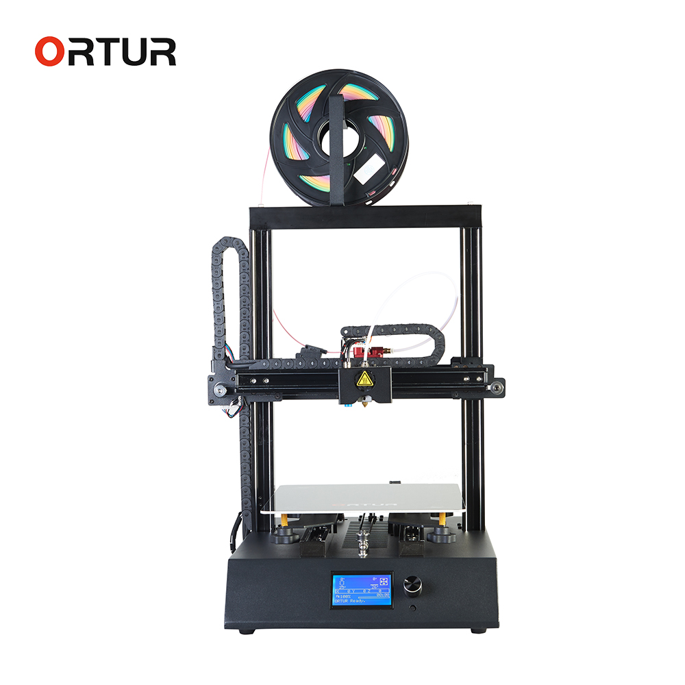 Ortur4 Steel Casing& Linear Guide Rail Impresora 3d Real 0.1mm Printing Accuracy Imprimante 3d Temperature Protection 3d Printer