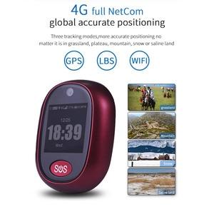 Image 2 - 새로운 실제 4G LTE 개인 GPS 트래커 방수 IP67 스마트 추적 펜던트 건강 관리 양방향 토크 HD 카메라 무료 APP