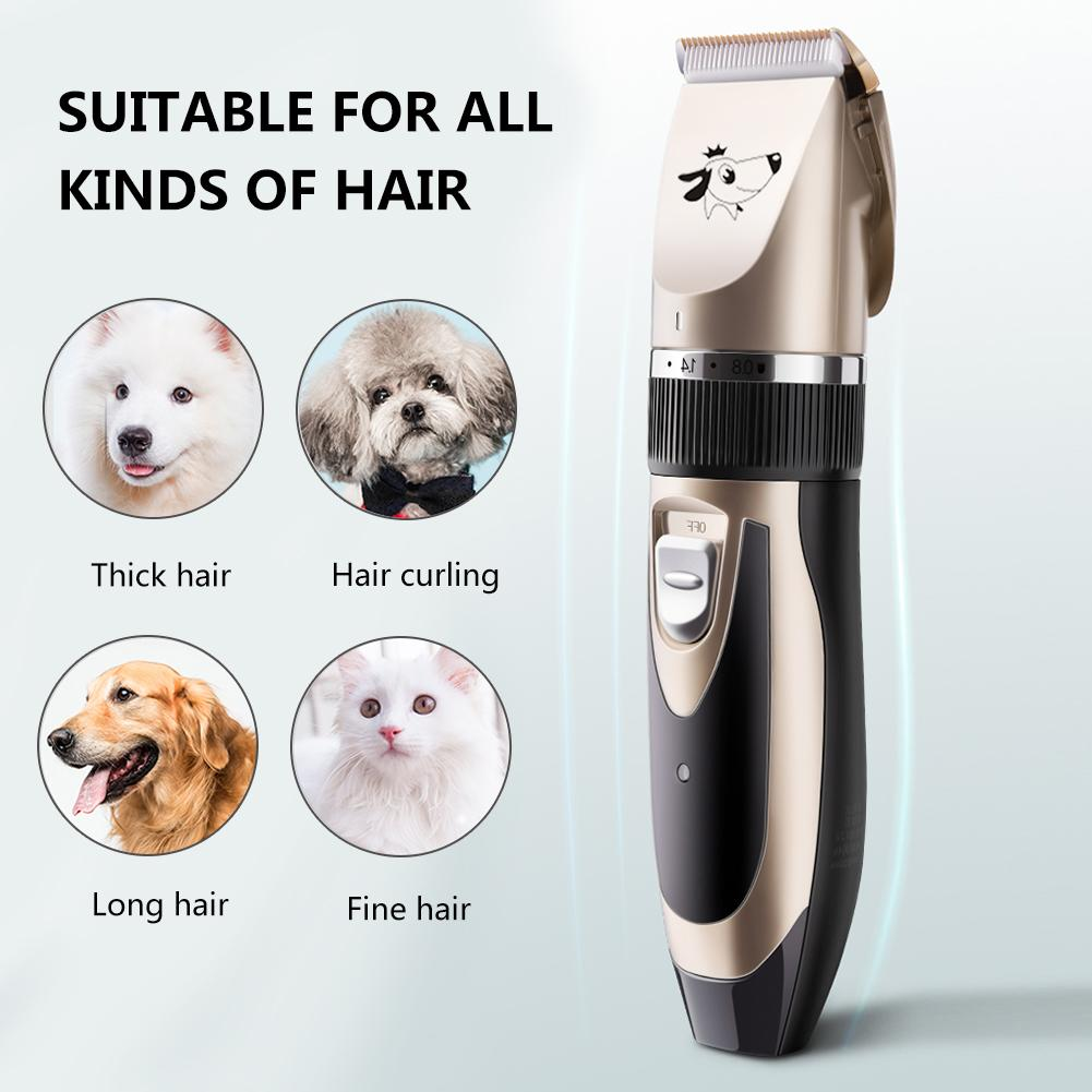 Appliance - PetClip™ Professional Pet Hair Trimmer USB Rechargeable Dog Cat Hair Clipper