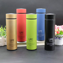 New Hot Sale 500ml 18/8 Stainless steel Coffee&Tea Thermals Mugs Vacuum Water Bottle With Tea Infuser Thermos Life Cup