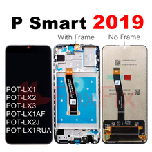 FoxFix Display For Huawei P Smart 2019 LCD Display POT LX1 Touch Screen Digitizer Assembly P Smart 2019 LCD With Frame Replace