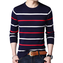 Men Winter Clothes Casual Men's Sweater Long Sleeve O Neck Striped Slim Fit Knittwear Mens Sweaters Pullovers Men Pull Homme autumn fashion brand casual sweater o neck striped slim fit mens sweaters pullovers men pull homme contrast color knitwear