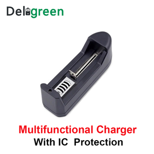 Image 4 - Deligreen Universal  18650 Battery Charger Li ion Rechargeable Smart Charger for 14500 ,16340 Batteries 1pcs  US EU PLUG