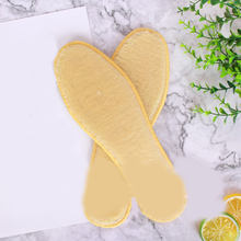 Warm Insole Plush Sweat-absorbent Deodorant Insoles Thicken Soft Breathable Winter Sport Shoes Insoles For Feet Shoes Boots Pad(China)