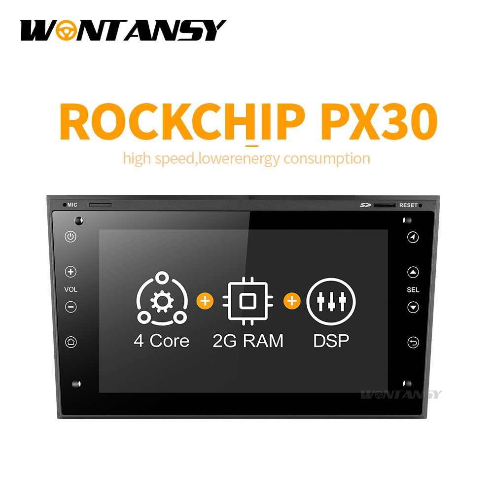 PX30 アンドロイド 9.0 車の dvd オペル Vauxhall Meriva でベクトラアンタラ Zafira Corsa Agila で GPS ラジオビデオプレーヤーナビゲーション