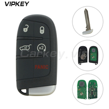 Remotekey Smart car Key  5 Button 434MHz M3N-40821302 for Jeep Grand Cherokee 2014 2015 цена и фото