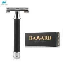 HAWARD Razor Men's Butterfly Razor Classic Safety Razor Manual Shaver For Shaving & Hair Removal 10 Double Edge Razor Blades