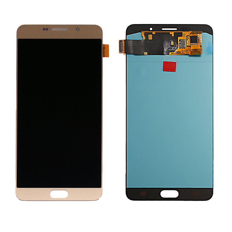 Super Amoled LCD For Samsung Galaxy A9 Pro 2016 Lcd A910 A9100 A910F SM-A910F Display And Touch Screen Digitizer Assembly Screen