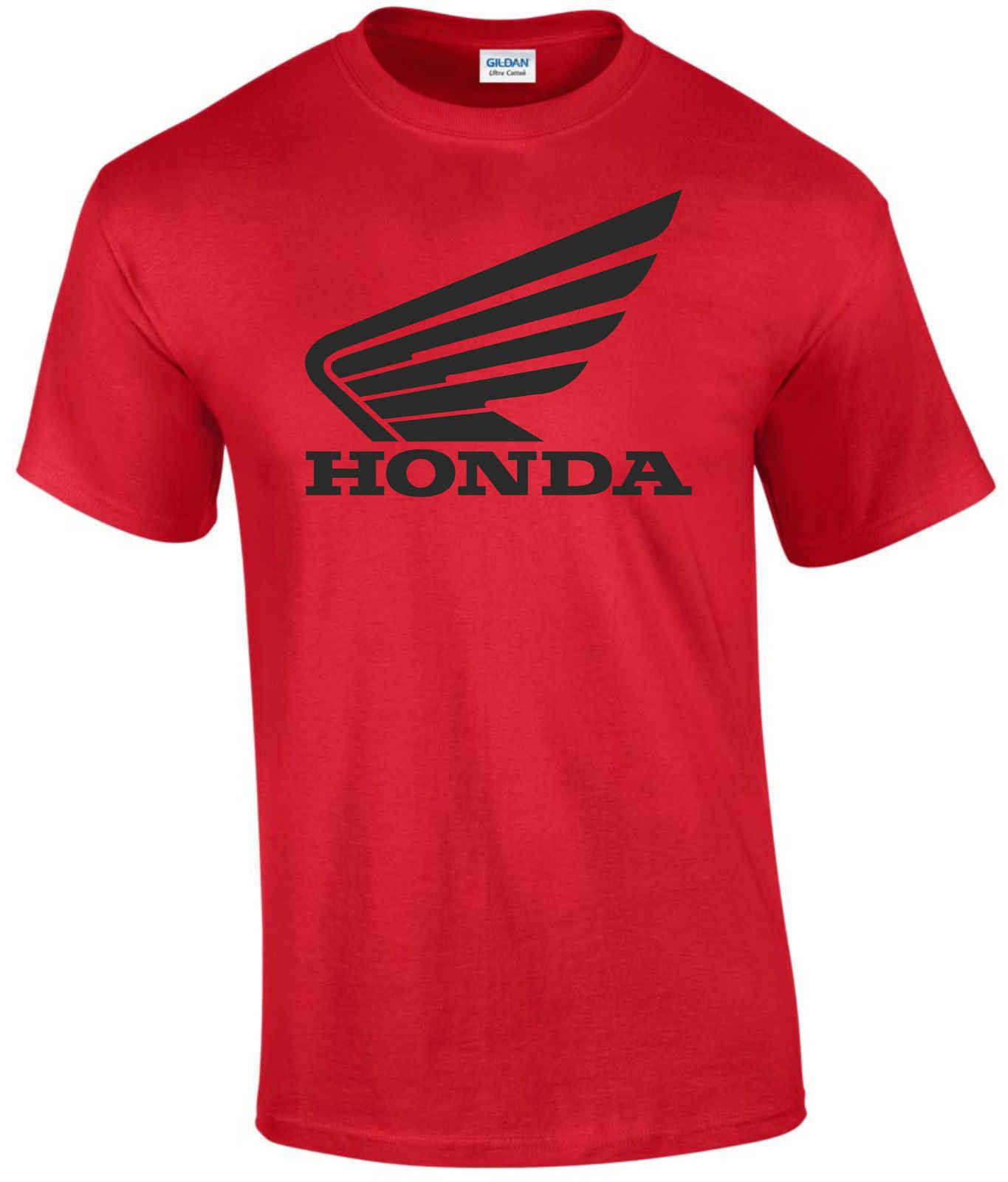 Honda Suzuki Motorfiets T-shirt Zomer Heren Dragen Katoen Ronde Kraag T-shirt Sport Casual Puur Katoen Korte Mouwen T-shirt