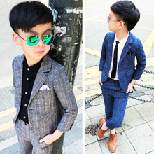 Boys Suits Tuxedos Spring-Clothing Kids Blazer Weddings Formal Dollplus 2pcs Coat