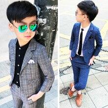 Dollplus 2019 Boys Suits for Weddings Kids Blazer S