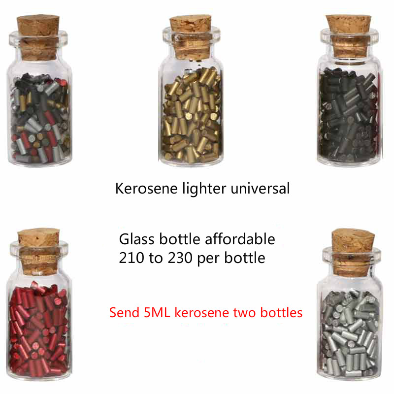 Lighter Flint Flint General Kerosene Flint Carbide Zipp Special Four-color Bottled 220 Grains Package