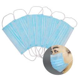 CC jednorazowe maski Maska Mascherine 3 warstwy włókniny bezpieczne Masque 50 sztuk ochrona zdrowia Earloops Maska szybka dostawa 5
