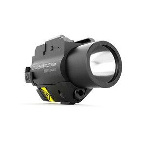 Image 4 - Drop Verzending Laserspeed LS CL2 R Red Beam Laser Sight En Tactische Zaklamp Combo Voor Pistool Met Strobe Light