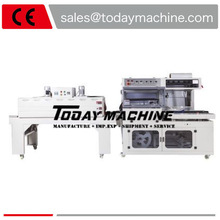 Automatic L Bar Sealer Polythene Sealing and Cutting Thermal Heat Shrink Tunnel