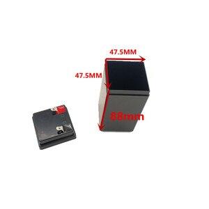 Image 3 - 4V4Ah plastik kasa yerine kurşun asit pil ile lityum pil 18650 saklama kutusu