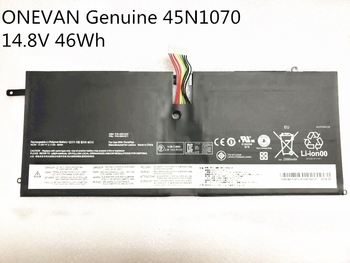 ONEVAN Genuine 45N1070 45N1071 Laptop Battery For Lenovo ThinkPad X1 Carbon Series 3444 3448 3460 Tablet 46WH Free Shipping image