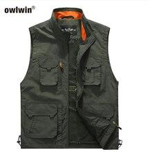 Рыболовная куртка быстросохнущая сетка Vestt многокарманный сетчатый жилет открытый многофункциональный карманный функциональный жилет
