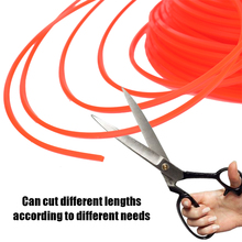 KKMOON 90m 6Type Nylon Trimmer Rope Fine Quality Brush Cutter Head Strimmer Line Mowing Wire Lawn Mower Accessory