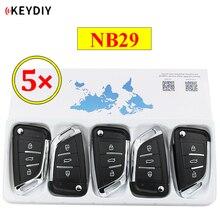 5 adet/grup KEYDIY 3 düğme çok fonksiyonlu uzaktan kumanda NB29 NB serisi için evrensel KD900 URG200 KD X2 tüm fonksiyonları bir