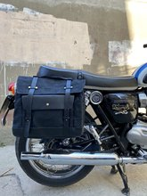 Sacs à bagages universels pour moto, sacoches latérales pour BMW R NineT Racer, sac de voyage en toile cirée pour casque, étanche et portable