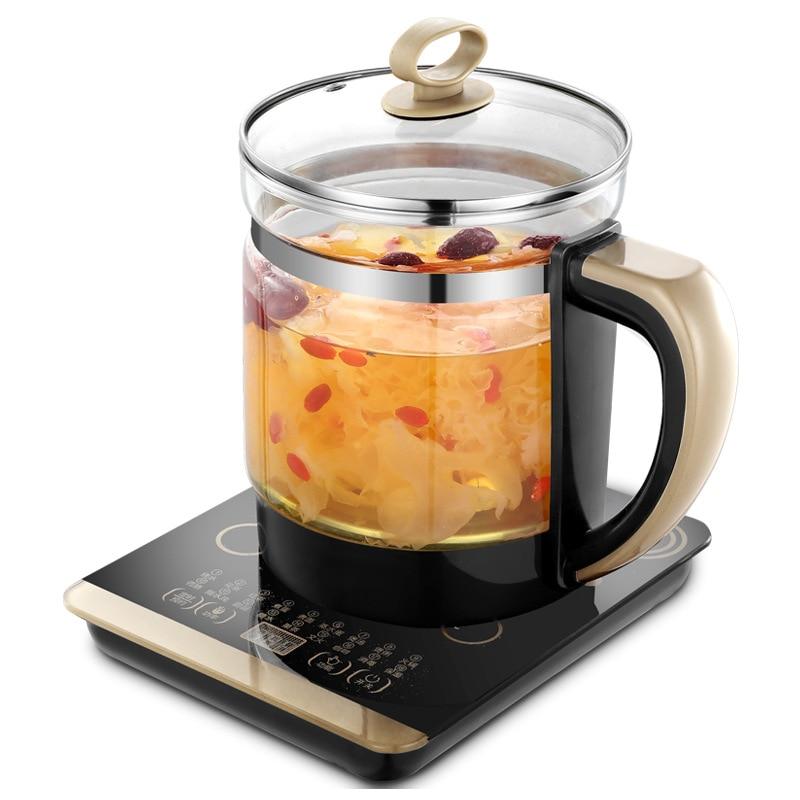 Multi-functional Health Pot Decocting Pot Glass Health Pot Mini Tea Cooker Electric Kettle To Boil Water Smart Insulation Pot