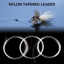 Fishing Line Carp Fly Fishing Cord Fluorocarbon Tapered Tool Fishing Leader Fishing Leader 0/1/2/3/4/5/6x 9ft Line Leashes G8Z7