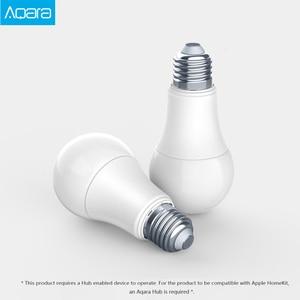 Image 2 - Original Aqara 9W E27 2700K 6500K 806lum Smart White Color LED Bulb Light Work With Home Kit And MIjia app